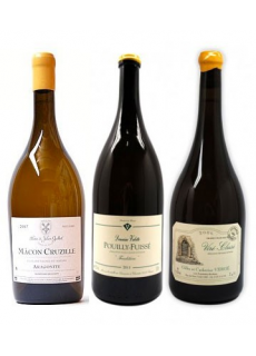 Triptyque Bourgogne Blanc