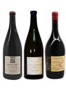 Triptyque Bourgogne Rouge