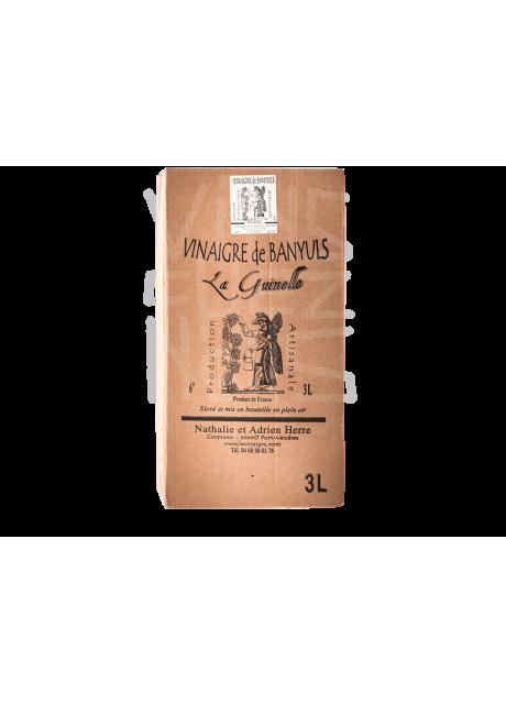 Vinaigre de Banyuls - Rouge - BiB 5litres