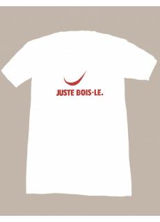 "Tshirt ""Juste Bois Le"" Glougueule"