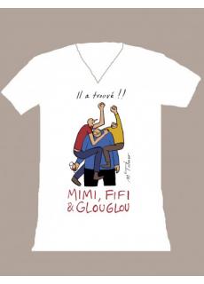 """Tshirt """"Mimi Fifi Glouglou"""""""