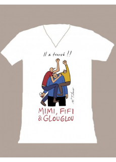 "Tshirt Femme ""Mimi Fifi Glouglou"""