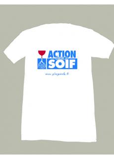 """Tshirt """"Action Contre la Soif"""""""