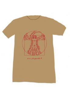 """Tshirt """"Vitruve"""" Glougueule"""