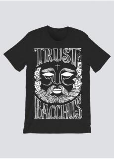 Tshirt Trust Bacchus Noir Homme