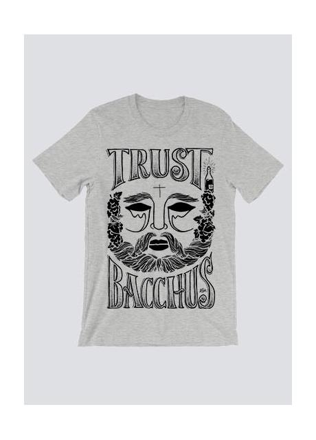 Tshirt Trust Bacchus Gris Homme