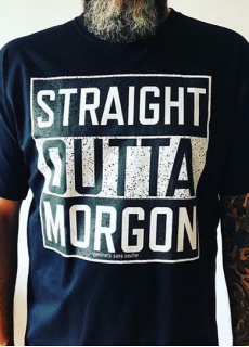 Tshirt Straight Outta Morgon